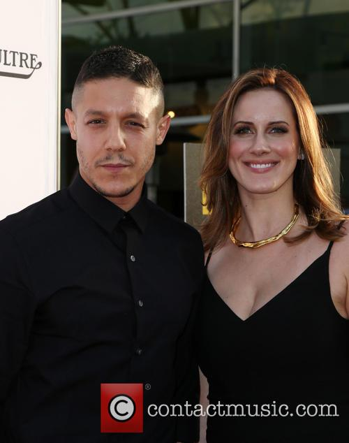 Theo Rossi and Meghan Mcdermott Rossi 3