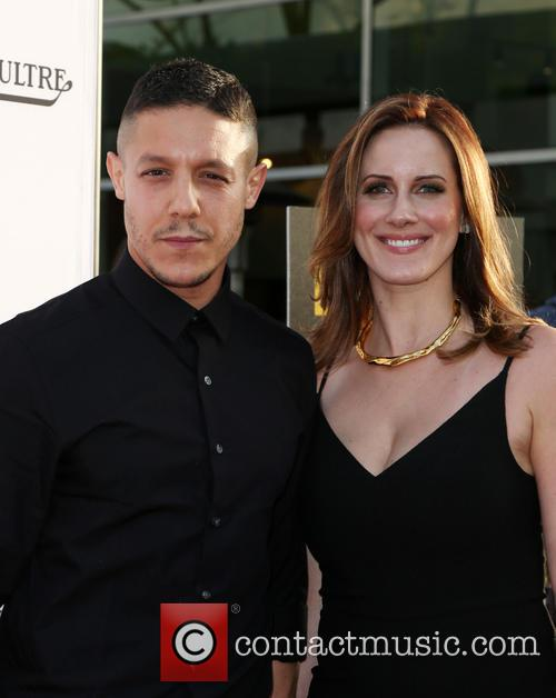 Theo Rossi and Meghan Mcdermott Rossi 4