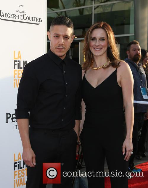 Theo Rossi and Meghan Mcdermott Rossi 5
