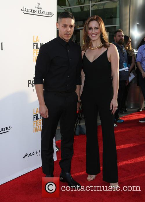 Theo Rossi and Meghan Mcdermott Rossi 6
