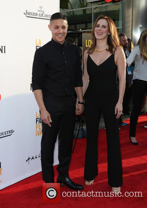 Theo Rossi and Meghan Mcdermott Rossi 7