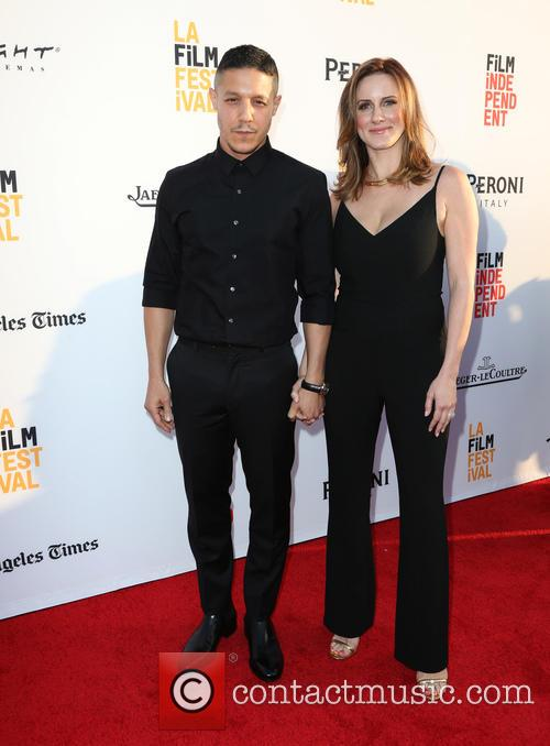 Theo Rossi and Meghan Mcdermott Rossi 8