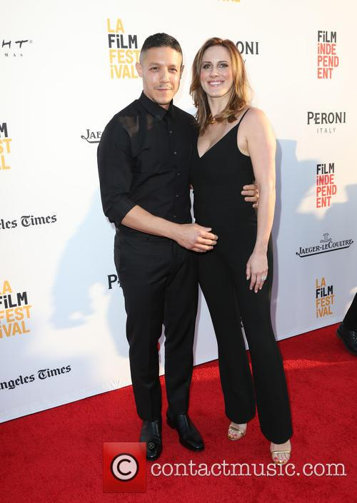 Theo Rossi and Meghan Mcdermott Rossi 9