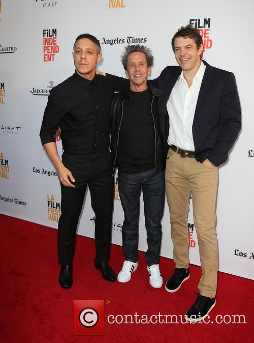 Theo Rossi, Brian Grazer and Jason Blum 10