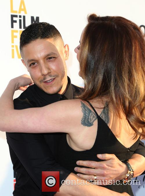 Theo Rossi and Meghan Mcdermott Rossi 11