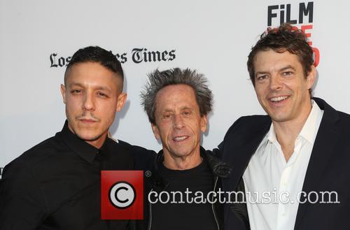 Theo Rossi, Brian Grazer and Jason Blum