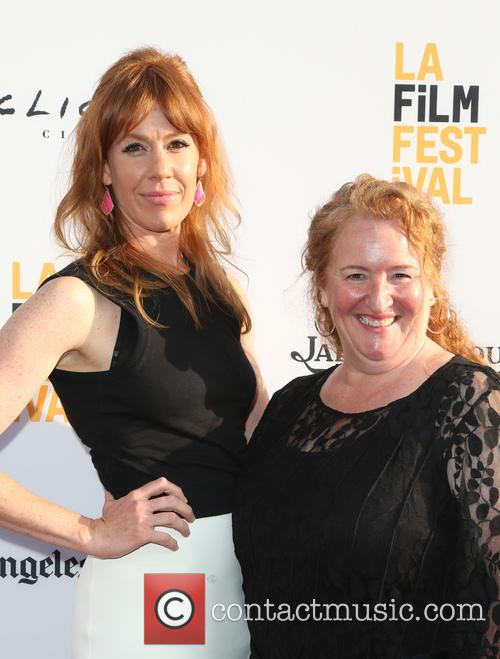 Kate Nowlin and Rusty Schwimmer 5