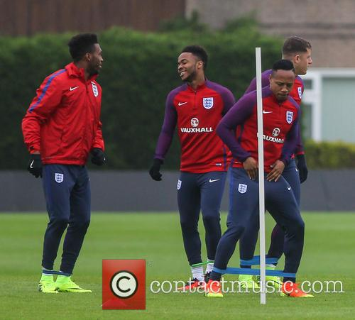 Daniel Sturridge, Raheem Sterling and Nathaniel Clyne 1