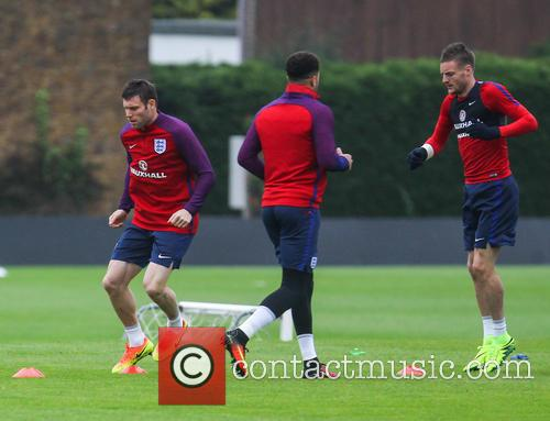 James Milner, Kyle Walker and Jamie Vardy 5
