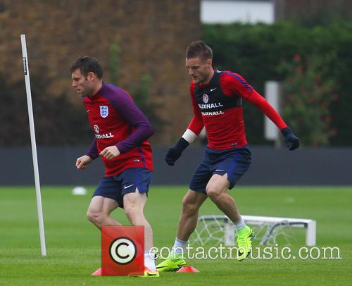 James Milner and Jamie Vardy 7