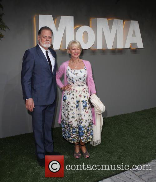 Taylor Hackford and Helen Mirren 1