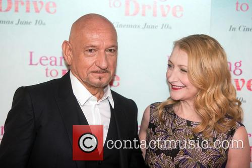 Patricia Clarkson and Sir Ben Kingsley 9