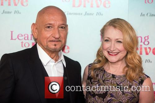 Patricia Clarkson and Sir Ben Kingsley 10