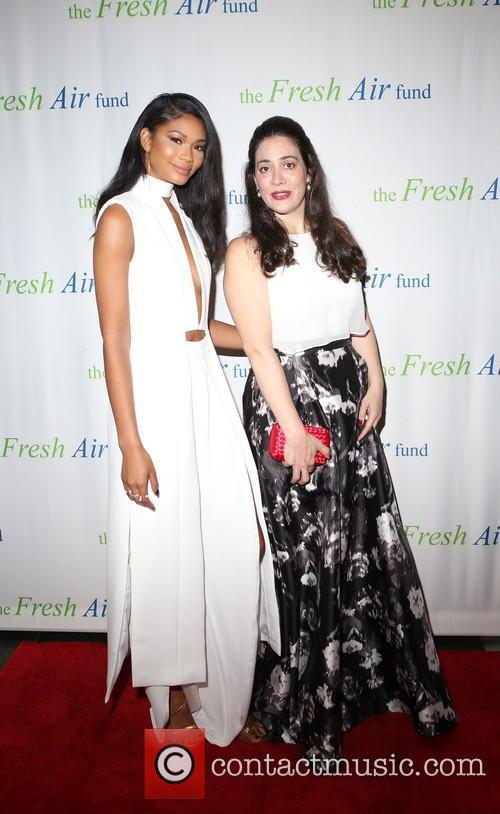Chanel Iman and Fatima Shama 4