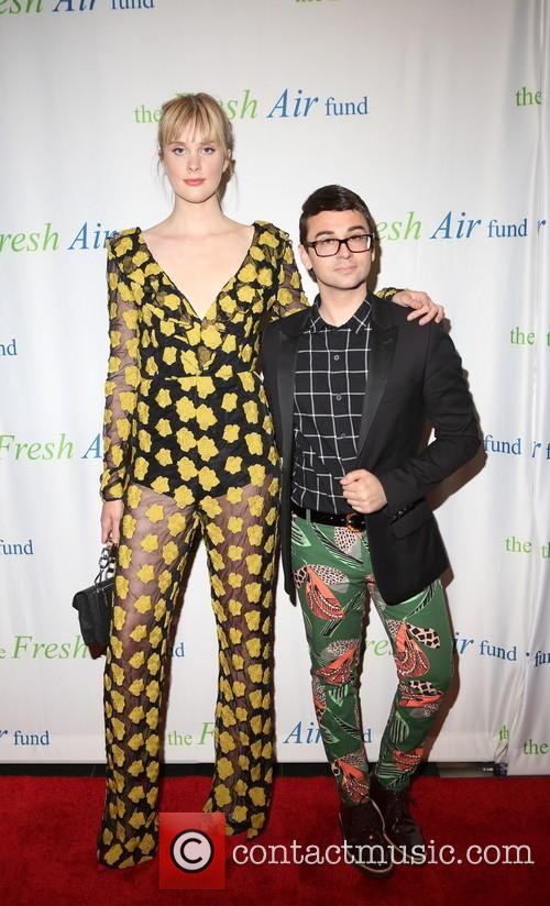 Jasmine Poulton and Christian Siriano