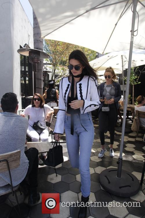 Kendall Jenner and her best friend Gigi Hadid...