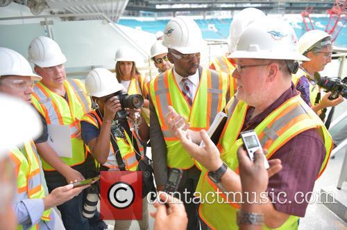Jason Jenkins Sr Vice President Communications, Community Affairs and Bill Senn Sr Vice President Stadium Renovation 1
