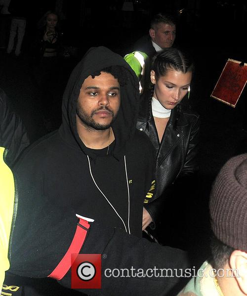 Bella Hadid and The Weeknd 3