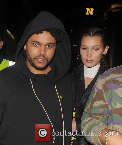 Bella Hadid and The Weeknd 10
