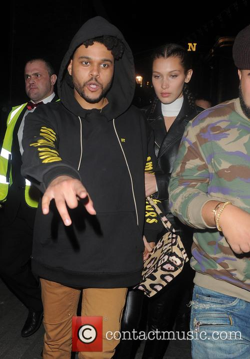 Bella Hadid and The Weeknd 11