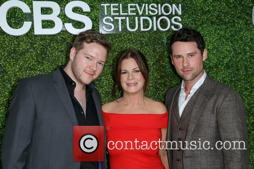 Actors Harry Ford, Marcia Gay Harden and Guest 2