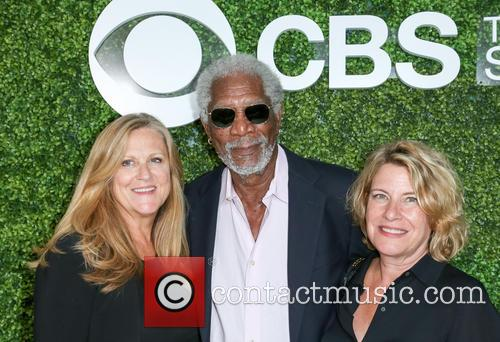 Producer Lori Mccreary, Morgan Freeman and Barbara Hall 1