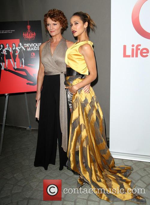 Rebecca Wisocky and Dania Ramirez