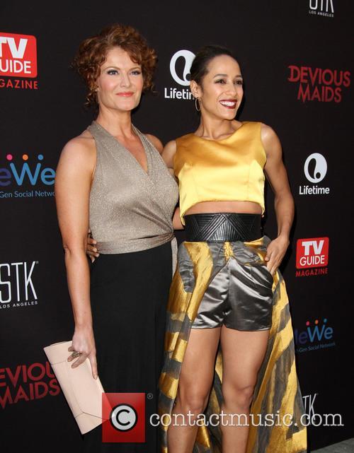 Rebecca Wisocky and Dania Ramirez 4