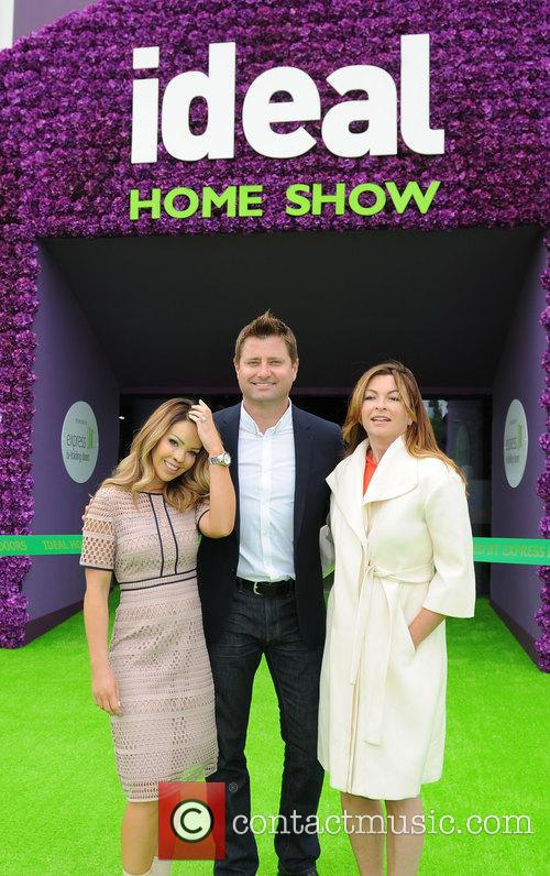 Katie Piper, George Clarke and Suzi Perry 1