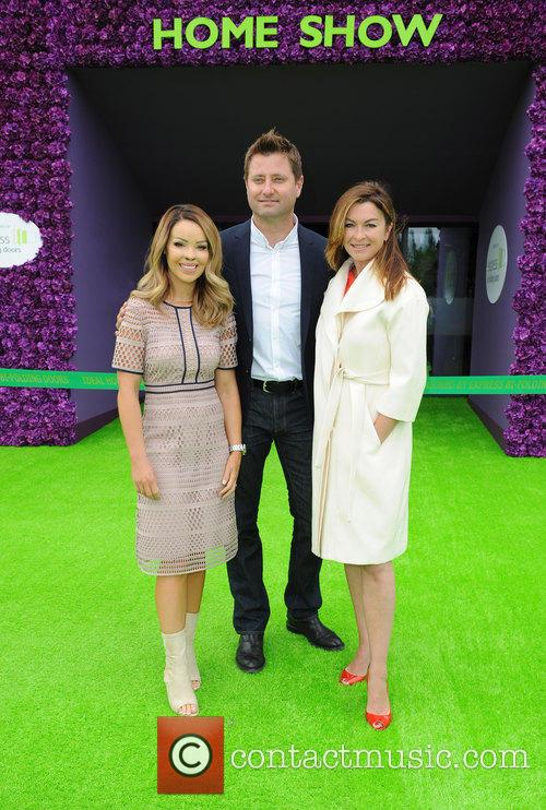 Katie Piper, George Clarke and Suzi Perry 5