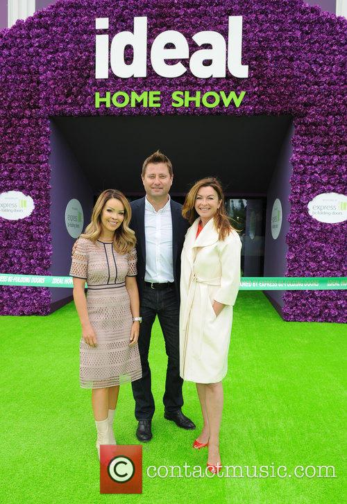 Katie Piper, George Clarke and Suzi Perry 8