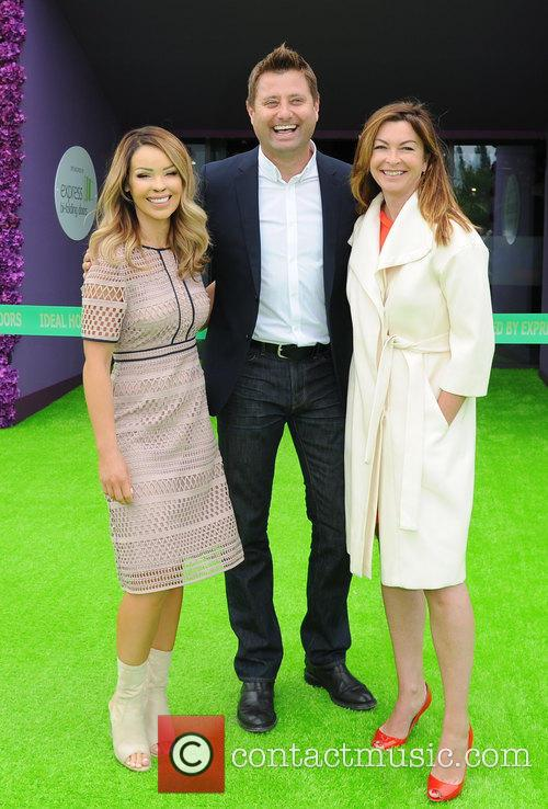 Katie Piper, George Clarke and Suzi Perry 9
