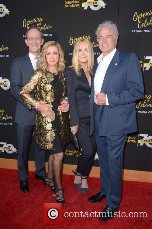 Ted Shackelford, Donna Mills, Joan Van Ark and Kevin Dobson 1