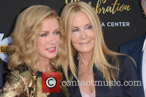 Donna Mills and Joan Van Ark 1