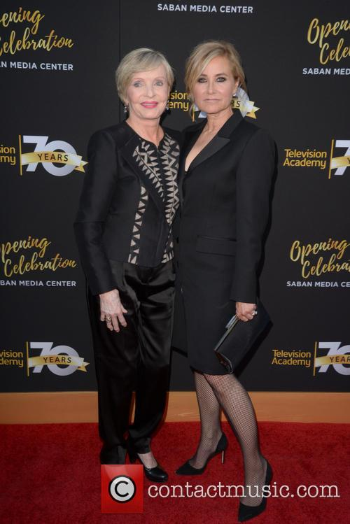 Florence Henderson and Maureen Mccormick 1