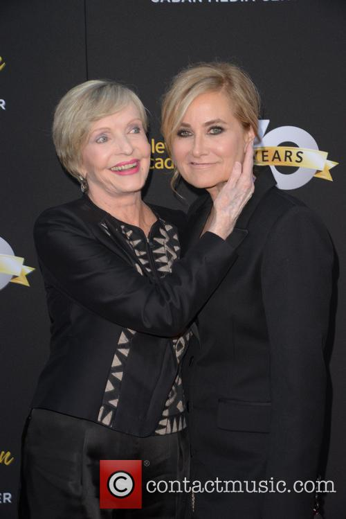 Florence Henderson and Maureen Mccormick 3