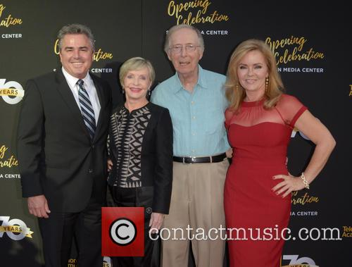 Christopher Knight, Florence Henderson, Bernie Kopell and Jill Whelan 1