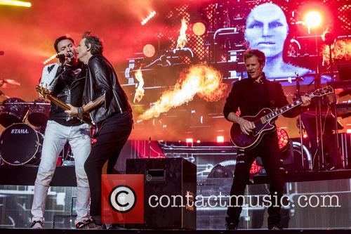 Duran Duran perform at BBC Music Day 2016