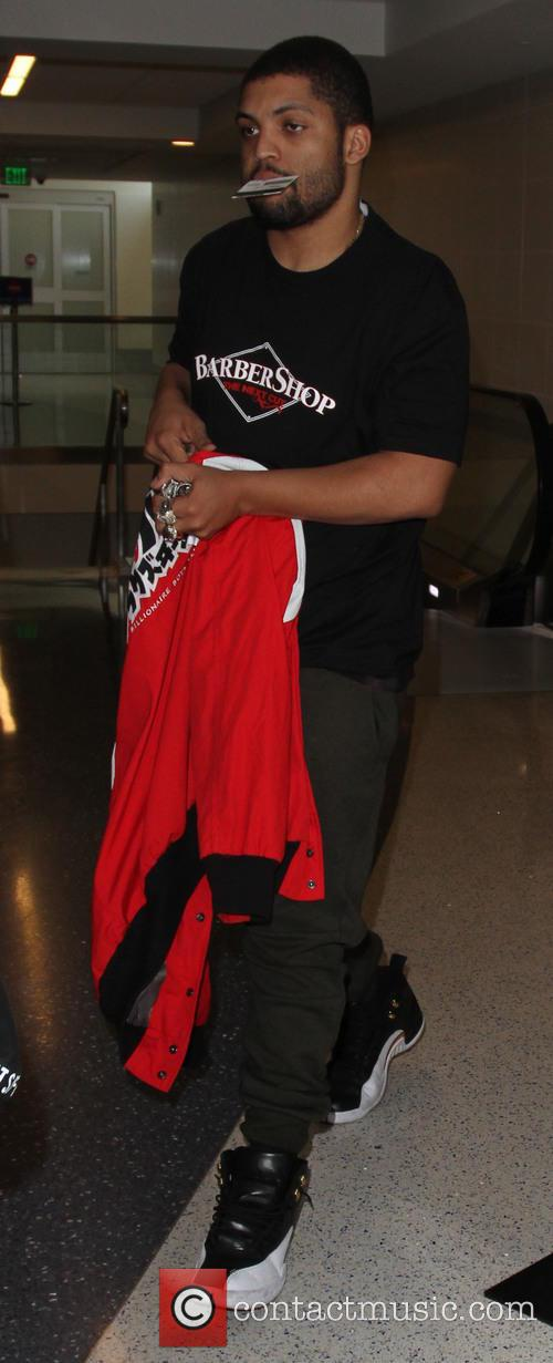 Ice Cube's son O'Shea Jackson Jr arrives at...