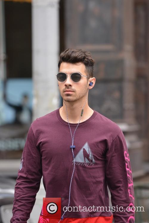 Joe Jonas out and about in Soho