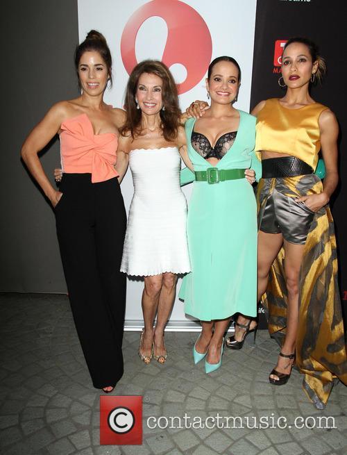 Ana Ortiz, Susan Lucci, Judy Reyes and Dania Ramirez 5