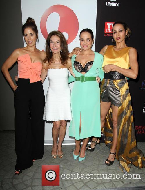 Ana Ortiz, Susan Lucci, Judy Reyes and Dania Ramirez 6
