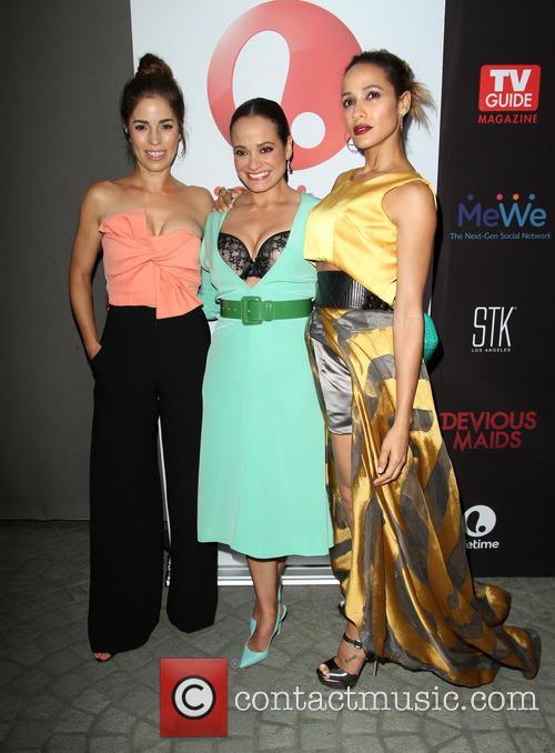 Ana Ortiz, Judy Reyes and Dania Ramirez 8