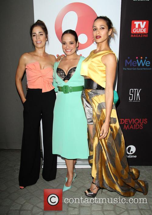 Ana Ortiz, Judy Reyes and Dania Ramirez 9