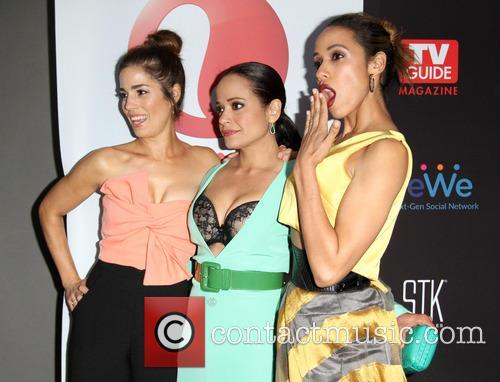 Ana Ortiz, Judy Reyes and Dania Ramirez 11