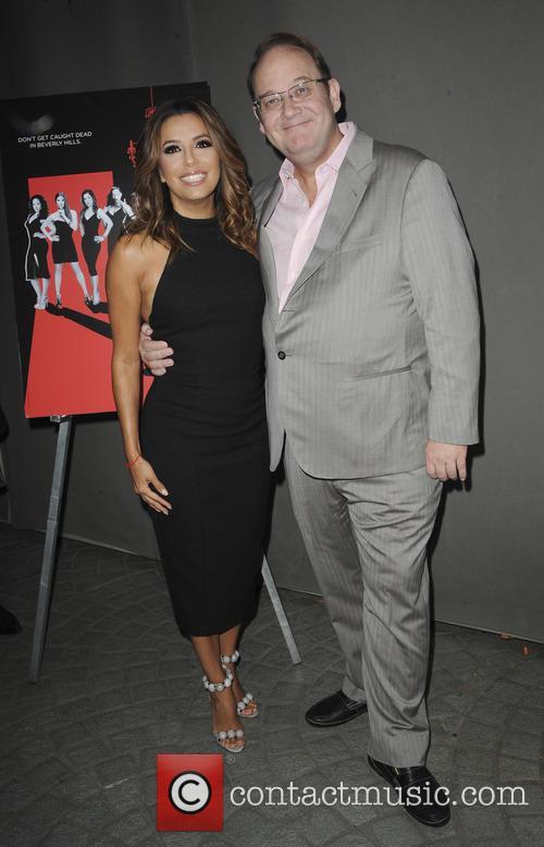 Eva Longoria and Marc Cherry 1