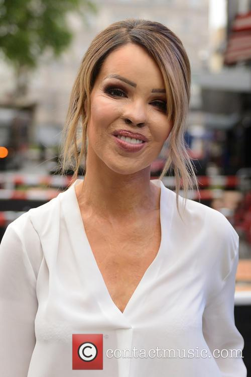 Katie Piper arrives at Global House London