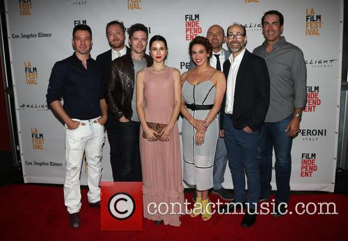 J.c. Chasez, Andrew Leland Rogers, Topher Grace, Jessica Richards, Lesli Margherita, Paul Scheer and Rob Riggle 1