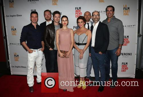 J.c. Chasez, Andrew Leland Rogers, Topher Grace, Jessica Richards, Lesli Margherita, Paul Scheer and Rob Riggle 2
