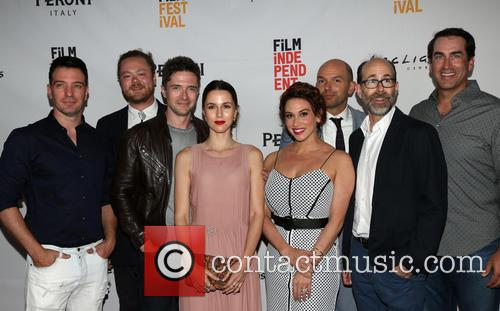 J.c. Chasez, Andrew Leland Rogers, Topher Grace, Jessica Richards, Lesli Margherita, Paul Scheer and Rob Riggle 3
